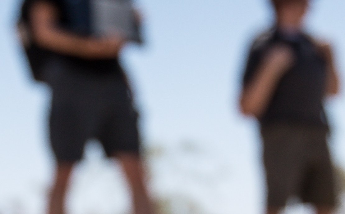 All Terrain Robots in the desert